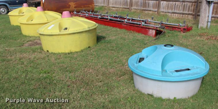 (4) liquid mineral tubs