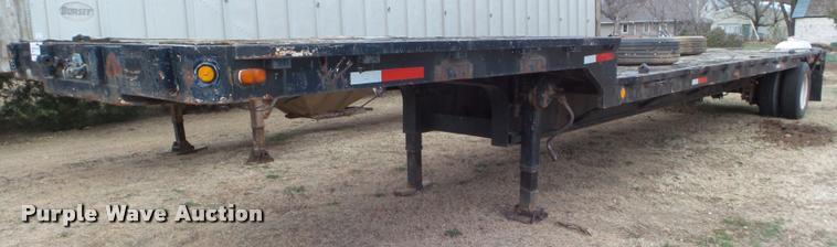 1976 drop deck trailer
