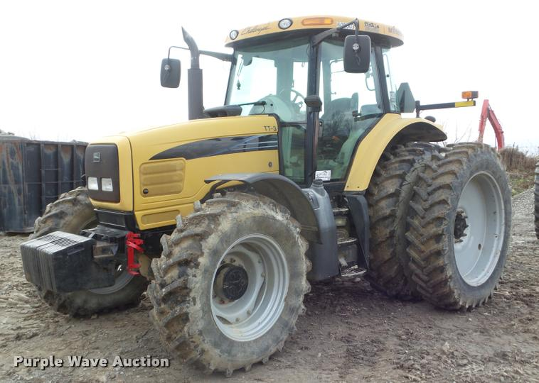 2004 AGCO Challenger MT555B MFWD tractor