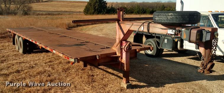 1977 shop built trailer