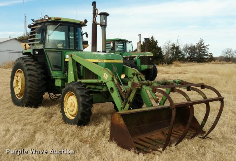 1974 John Deere 4430 HFWD tractor