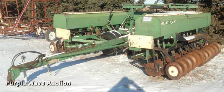 Great Plains 3SF30 grain drill