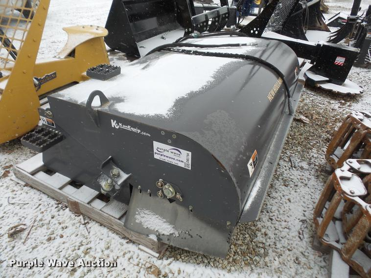2013 New Holland 20584M sweeper skid steer attachment