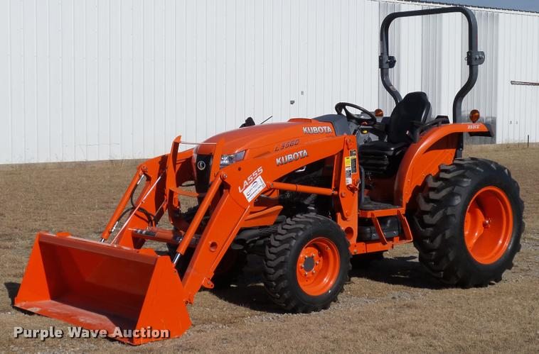 2013 Kubota L3560 HST MFWD tractor