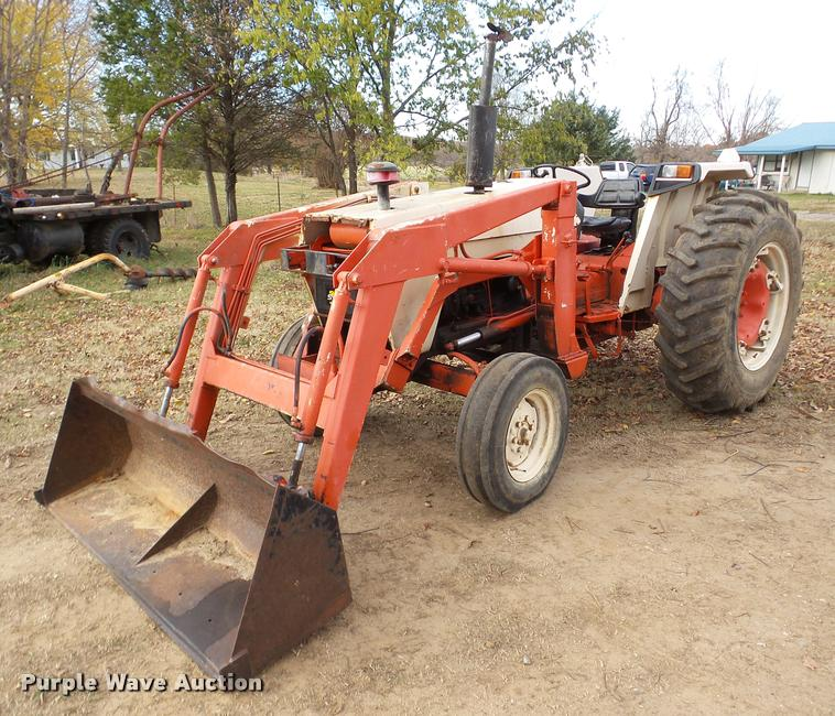 Case 1390 tractor