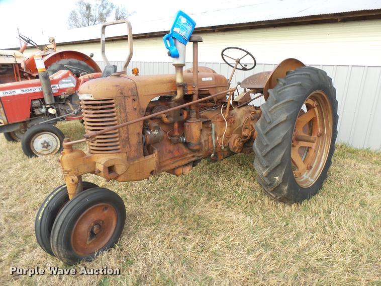 1949 Case SC tractor