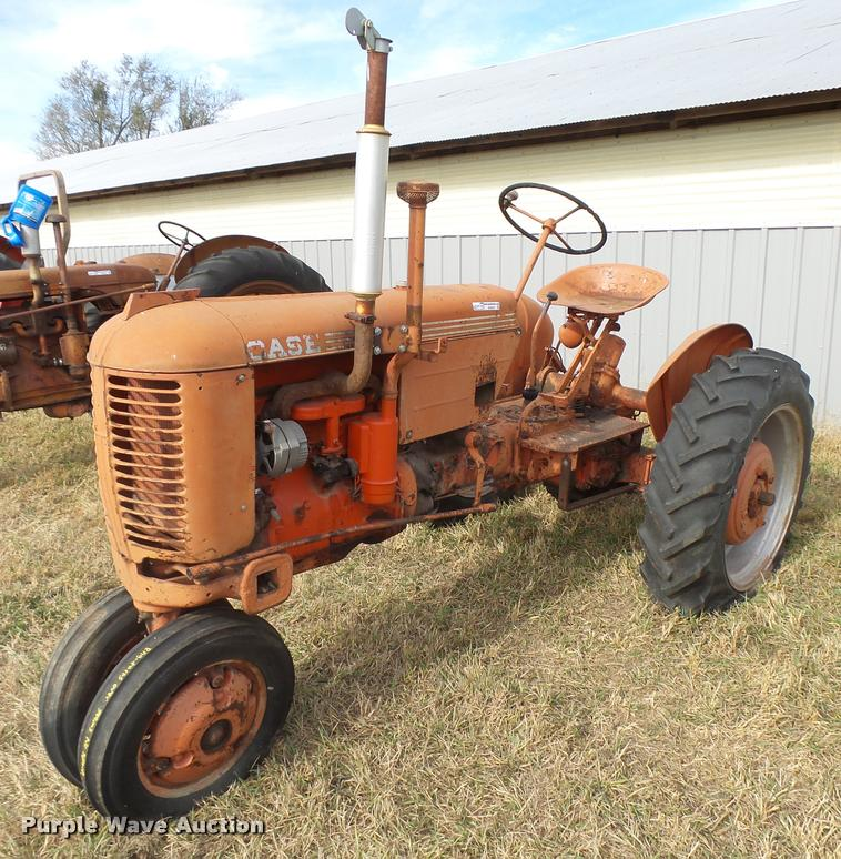 1950 Case VAC tractor