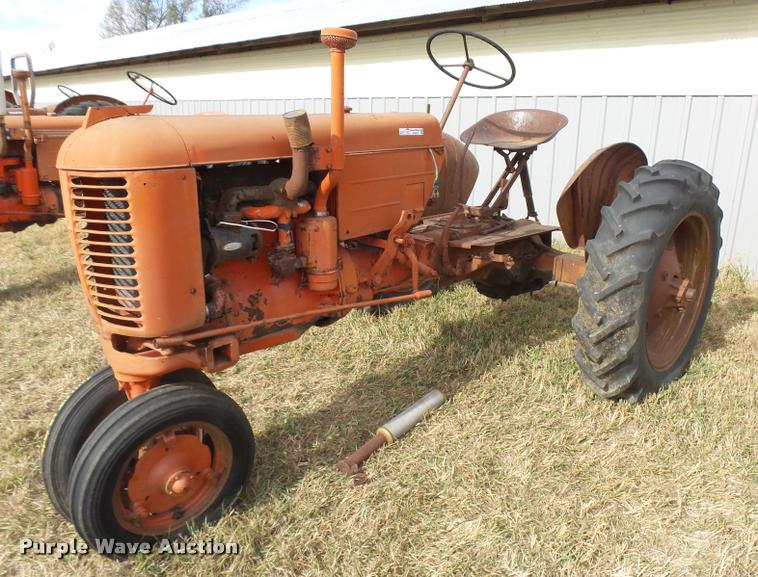 1949 Case VAC tractor
