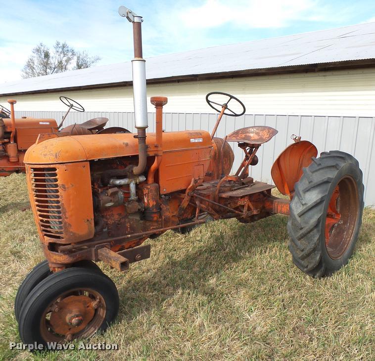 1947 Case VAC tractor