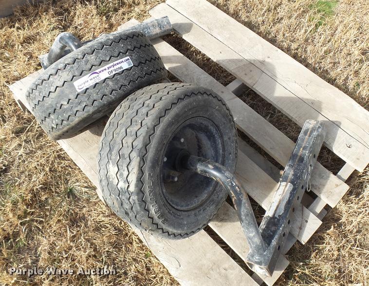 (2) 16.5x6.5-8 adjustable dolly wheels