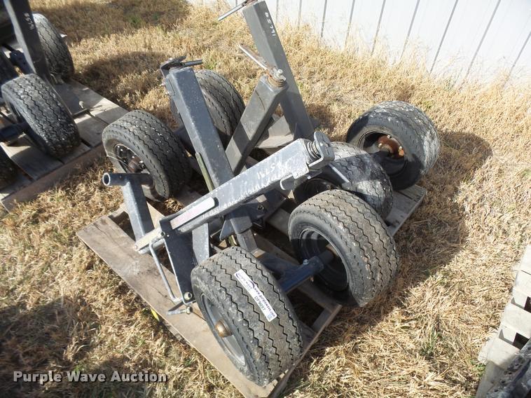 (3) 16.5x6.5-8 adjustable dolly wheels