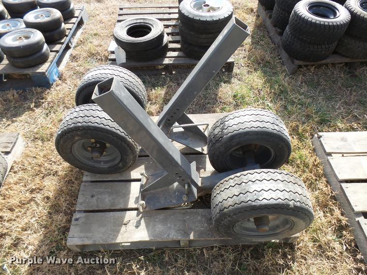 (2) 16.5x6.5-8 dolly wheels