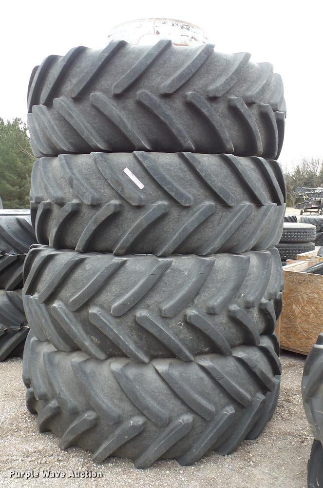 (4) Michelin Multibib tires and wheels