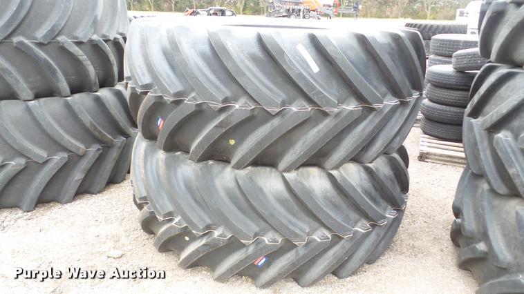 (2) Mitas SFT tires