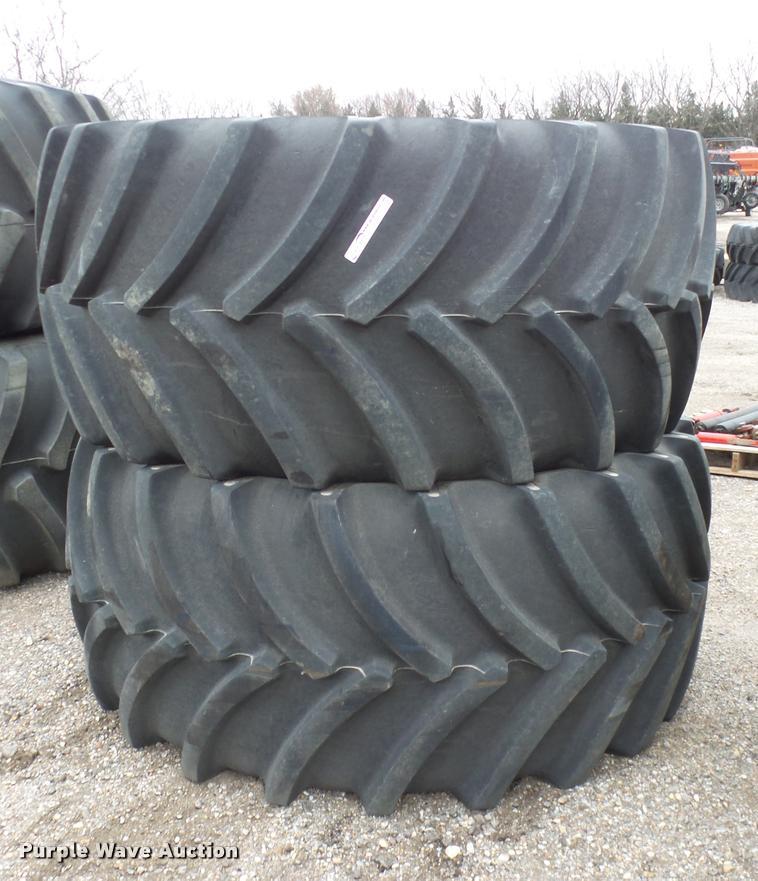 (2) Goodyear Optitrac DT803 tires