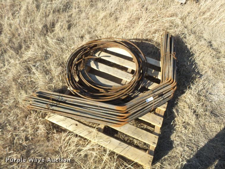 Approximately 110 sticks of rebar