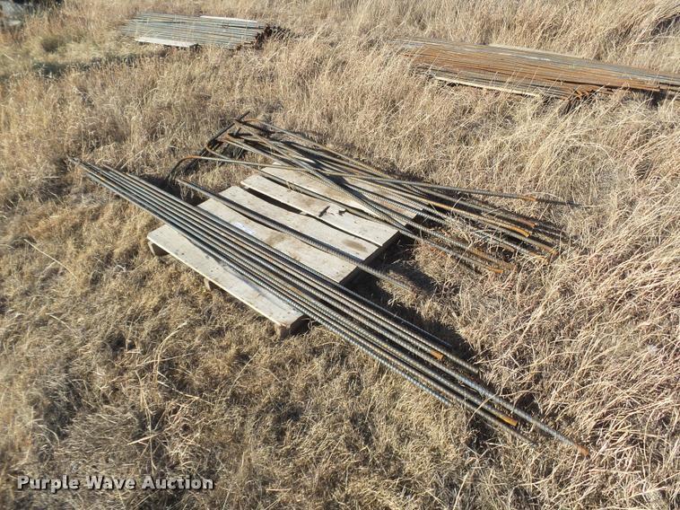 Appoximately 88 sticks of rebar