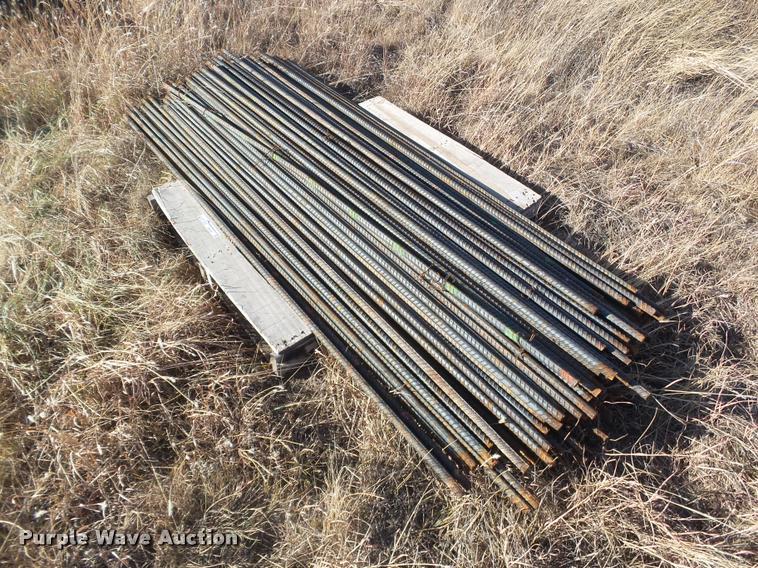 (150) sticks of rebar