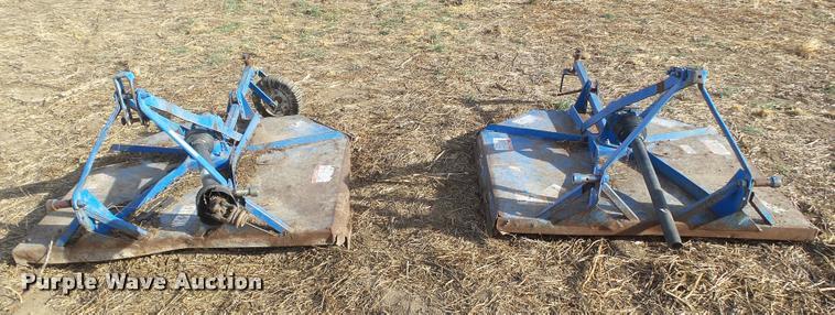 (2) rotary mowers