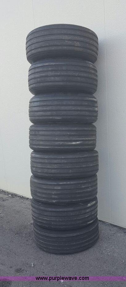 (8) Marcher 11L-15 tires