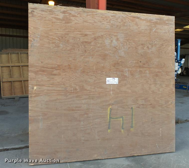 Shop built grain storage bin