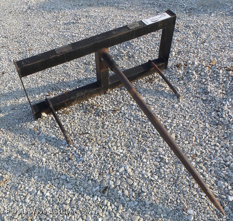 Built Mfg. bale spear