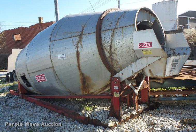 Kraus rotary fertilizer blender/mixer