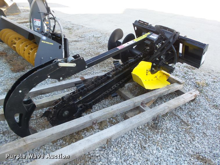 2015 Vail VXD1200 skid steer trencher attachment