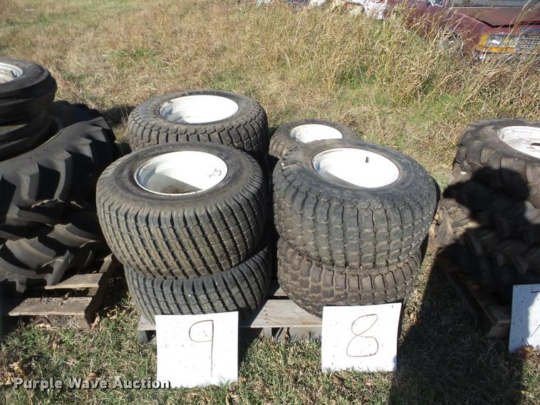 (8) tires