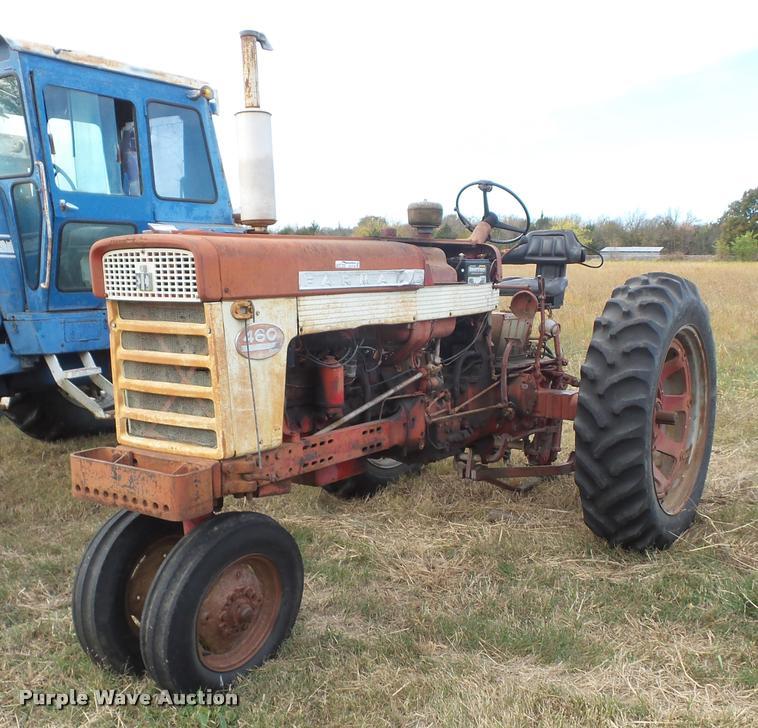1960 Mccormick Farmall 460 tractor