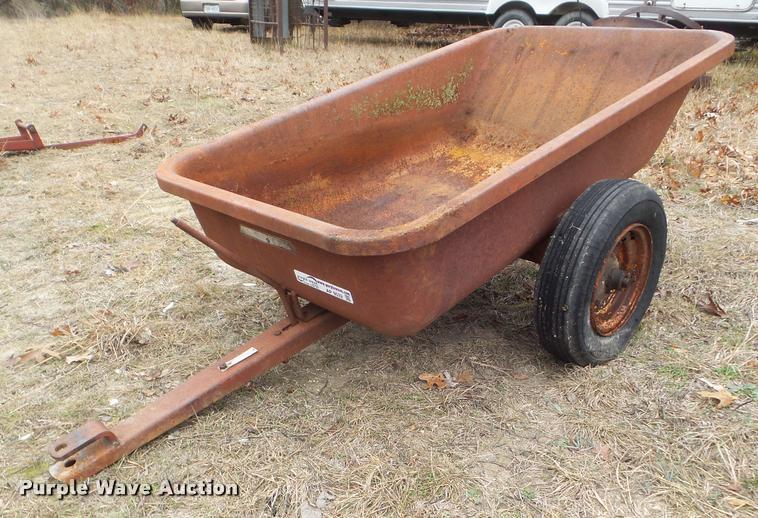 Wheel Horse 72211-8 dump bed lawn cart