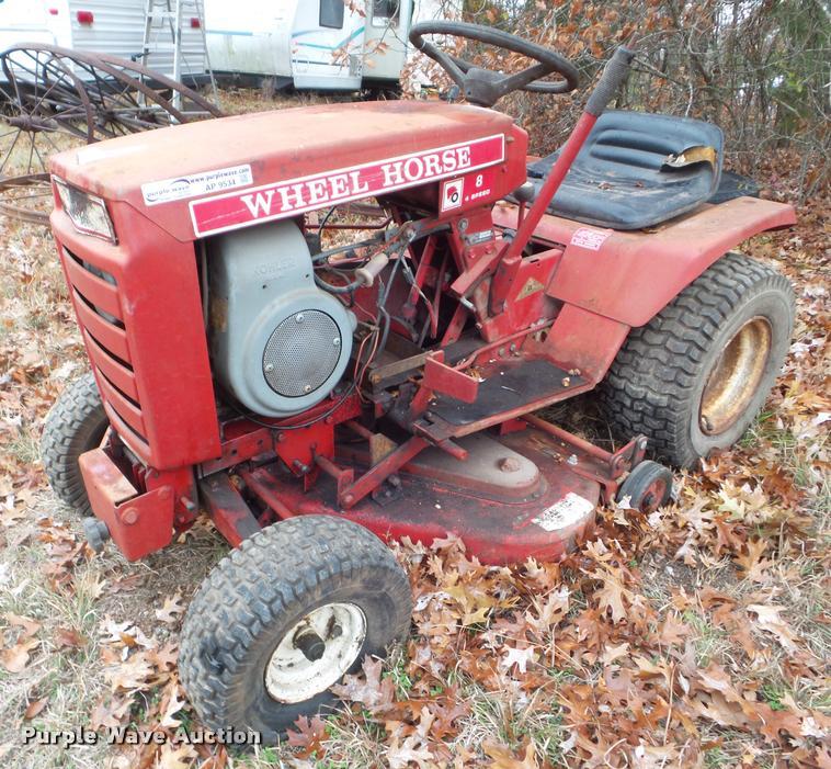 Wheel Horse 8 lawn mower