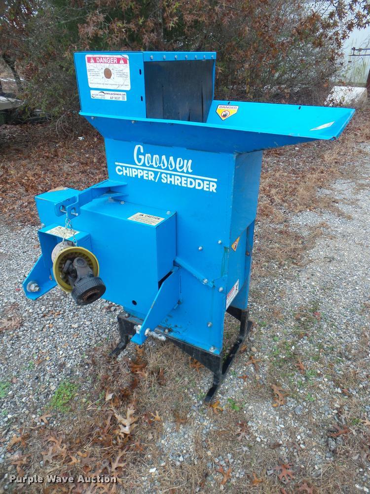 Goosen chipper/shredder