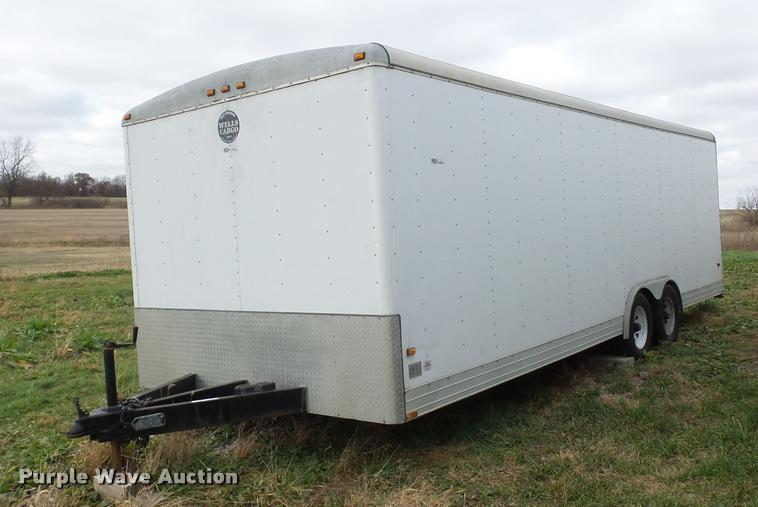 1998 Wells Cargo enclosed cargo trailer
