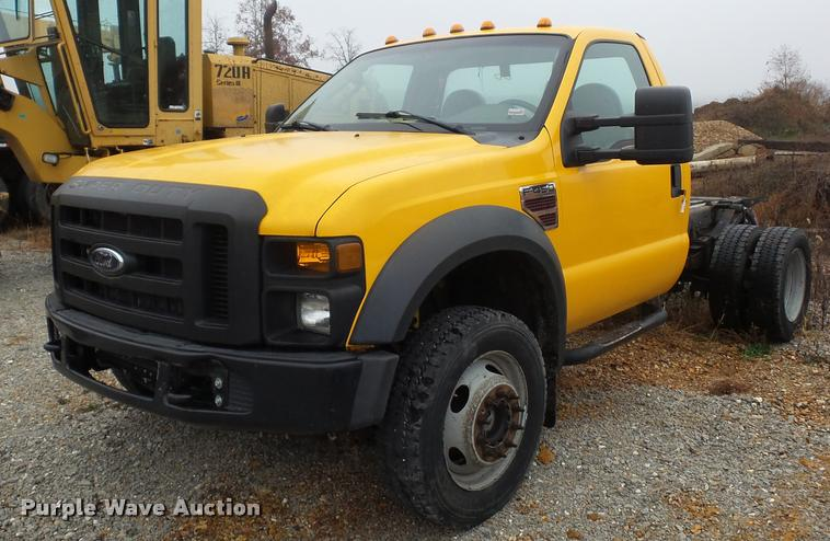 2008 Ford F450 Super Duty truck cab and chassis