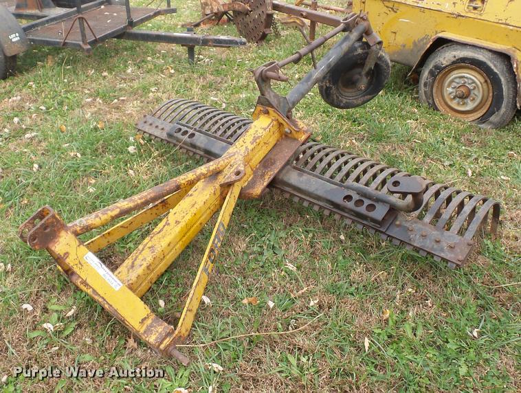 Ford rock rake