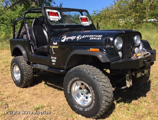 1985 Jeep CJ7 SUV