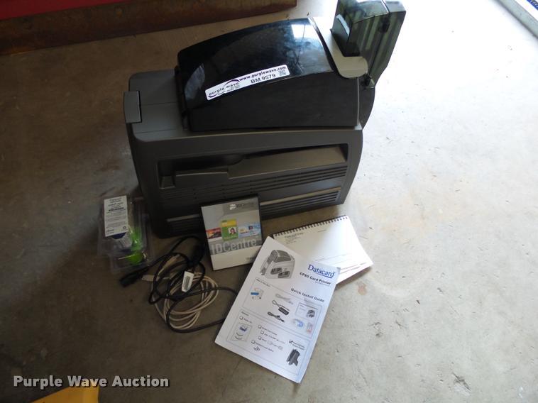 Data Card CP80 printer