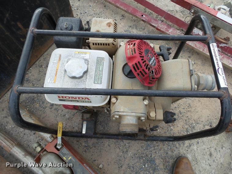 Honda WT20X trash pump