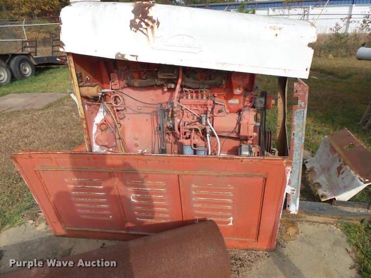 Waukesha-Scania six cylinder diesel engine