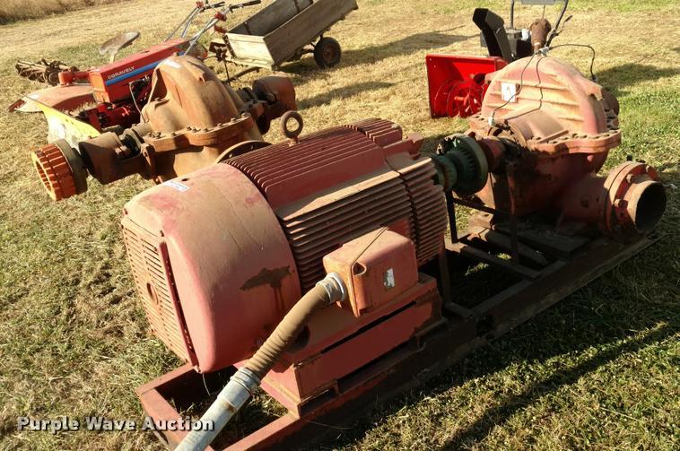 Allis Chalmers water pump
