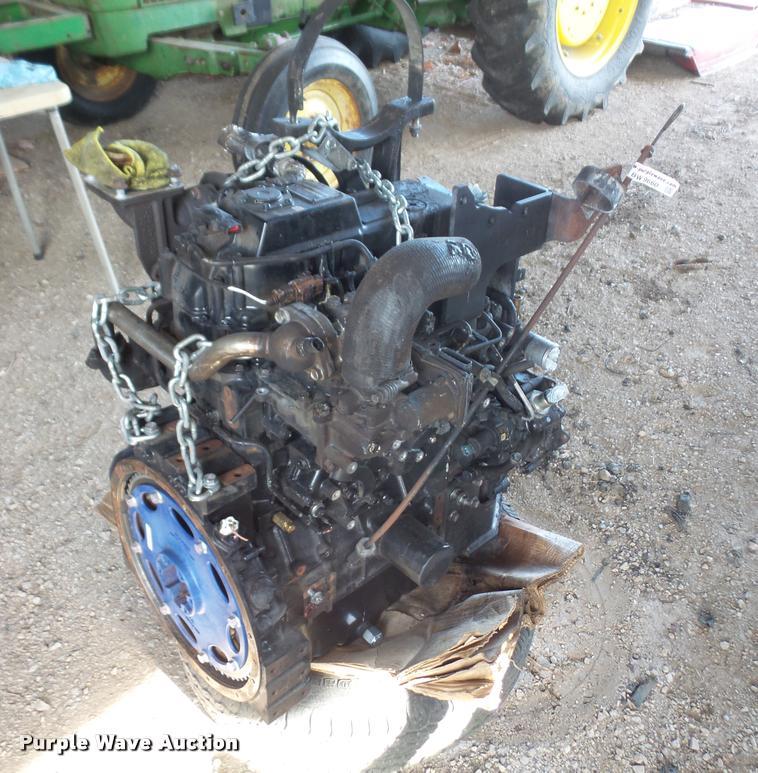 Yanmar 4TNV94CHT four cylinder turbo diesel engine