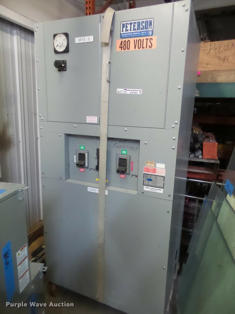 Peterson electrical panel
