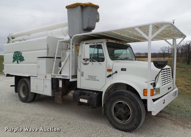 1995 International 4700 bucket truck