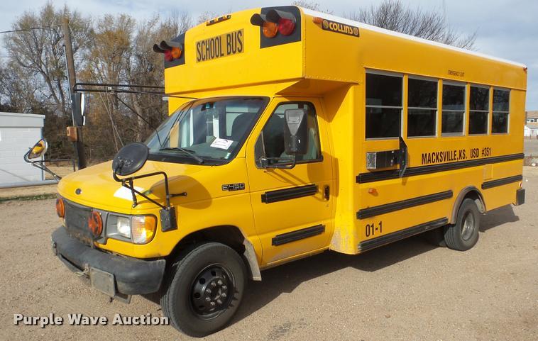 2001 Ford Econoline E450 school bus