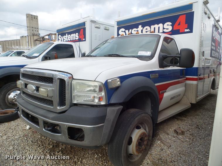 2007 Ford F450 Super Duty ambulance