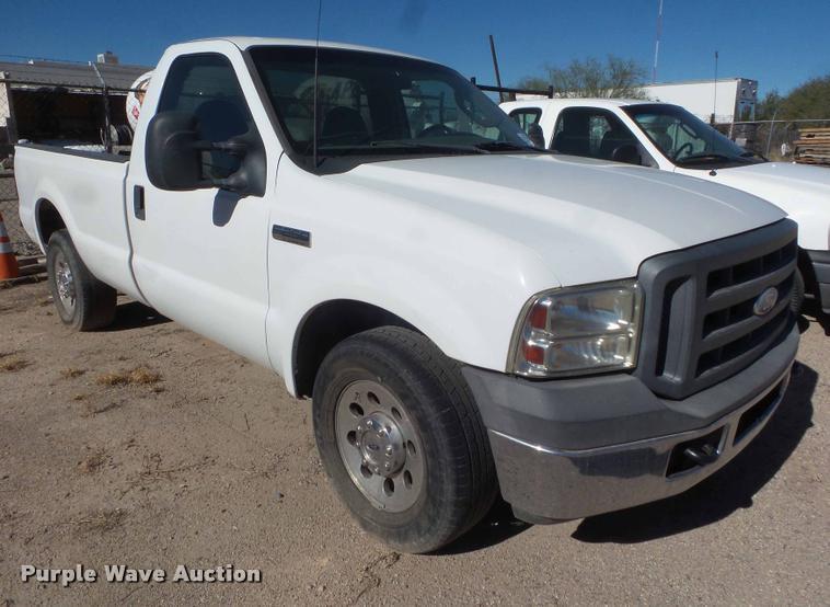 2005 Ford F250 Super Duty pickup truck