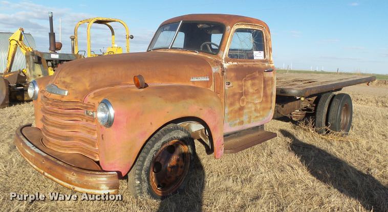 1947 Chevrolet Loadmaster pickup truck