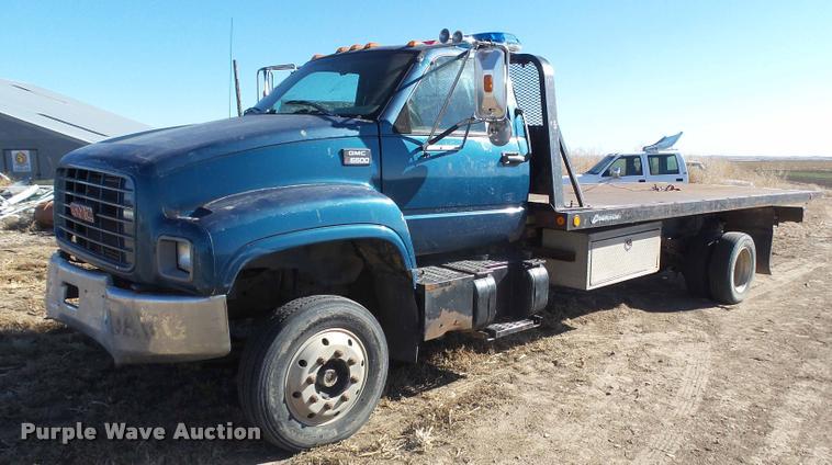 1999 GMC C6500 rollback truck