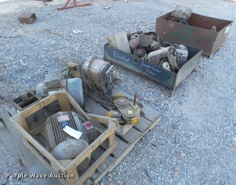Overhead hoists and motors